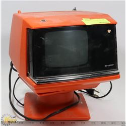 VINTAGE SHARP MODEL 3S-111C SOLID STATE TV