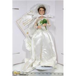 THE ASHTON DRAKE GALLERIES ROYAL ELEGANCE BRIDE