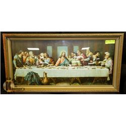 THE LAST SUPPER FRAMED 33 X 17