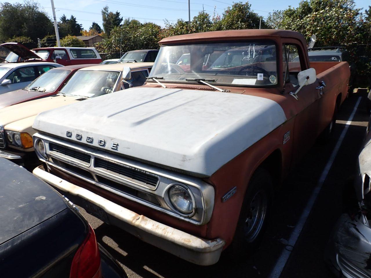 1970 Dodge Pickup Speeds Auto Auctions