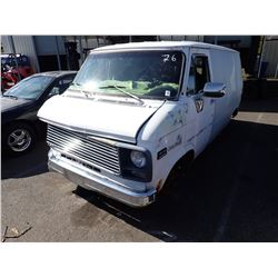 1979 Chevrolet Chevy Van