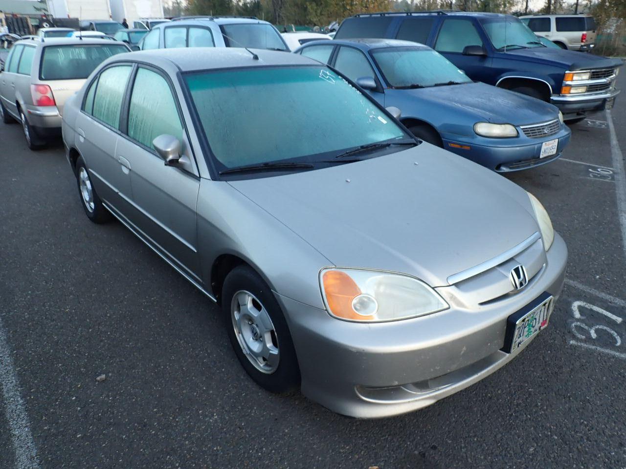 2003 Honda Civic Hybrid - Speeds Auto Auctions