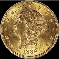 1889 $20.00 GOLD LIBERTY
