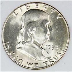 1953-S FRANKLIN HALF DOLLAR