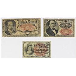 FR 1309, FR 1259, AND FR 1381 FRACTIONAL CURRENCY