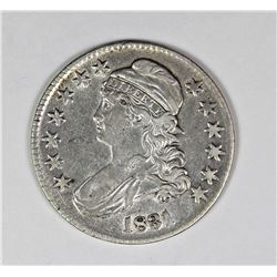 1831 BUST HALF DOLLAR