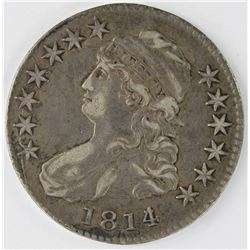 1814/13 BUST HALF DOLLAR