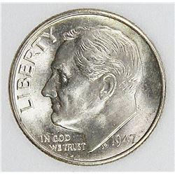 1947 S/D ROOSEVELT DIME