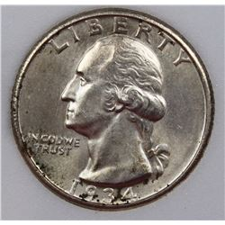 1934-D WASHINGTON QUARTER
