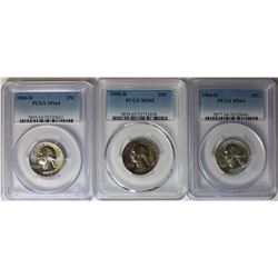 PCGS WASHINGTON QUARTER LOT: