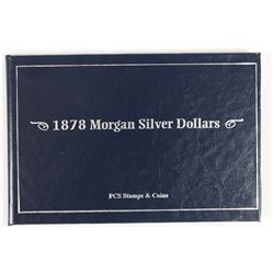 1878 MORGAN SILVER DOLLAR SET