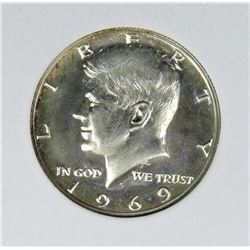 1969-S KENNEDY HALF DOLLAR
