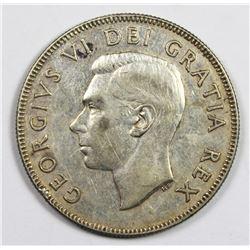 1948 CANADA HALF DOLLAR