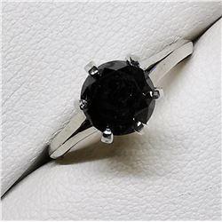 14K BLACK DIAMOND(1.2CT) (1.88GM) RING