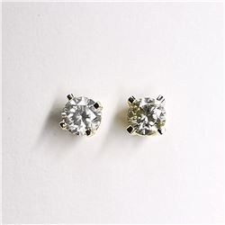 14K DIAMOND (0.16CT) (0.44GM) EARRINGS