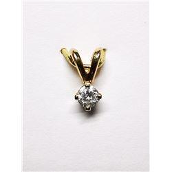 14K DIAMOND(0.07CT) PENDANT