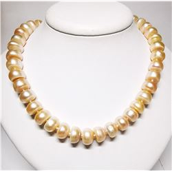 FRESHWATER PEARL (76.14GM) NECKLACE