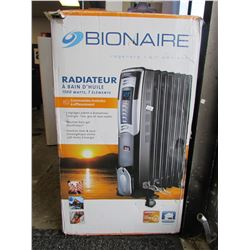 BIONAIRE 1500W OIL FILLED RADIATOR