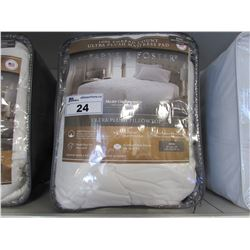 STEARNS & FOSTER KING SIZE 1000 THREAD COUNT ULTRA PLUSH MATTRESS PAD
