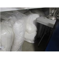 3 BAGS OF ASSORTED STAGE HOME BED PILLOWS