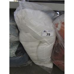 BAG OF ASSORTED STAGE HOME BED PILLOWS