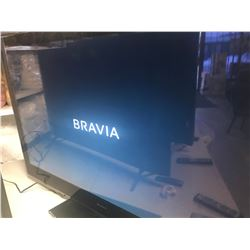 """SONY 52"""" LCD HD TV MODEL KDL-52XBR10 WITH REMOTE"""