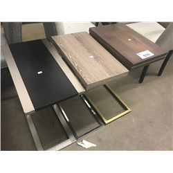 3 NESTING SIDE TABLES