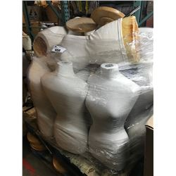 PALLET LOT OF MANNEQUINS