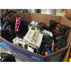 LARGE PALLET LOT OF ASSORTED HOUSEHOLD ITEMS & KIDS TOYS
