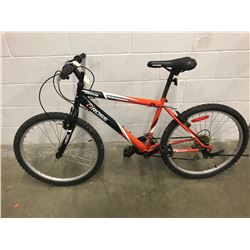 BLACK/ORANGE ROSS MOUNTAIN BIKE