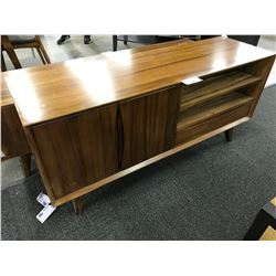 CHERRY 5' SOLID WOOD TV CONSOLE