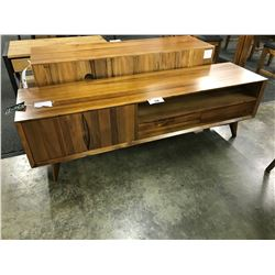 CHERRY 6' SOLID WOOD TV CONSOLE