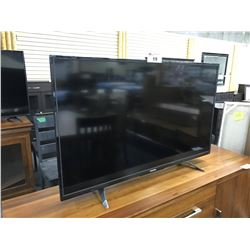 "TOSHIBA 50"" FLATSCREEN TV WITH STAND AND REMOTE"