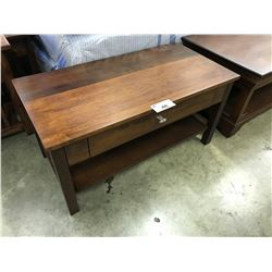 """CONDU"" 3' WALNUT COFFEE TABLE"