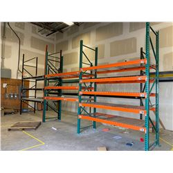 LARGE LOT OF PALLET RACKING *LOCATED IN BURNABY* PICKUP MONDAY JANUARY 27TH BY APPOINTMENT