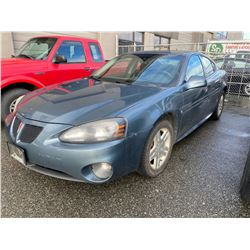 2007 PONTIAC GRAND PRIX, GREY, 4DRSD, GAS, AUTOMATIC, VIN#2G2WP552871228781, 178,972KMS,