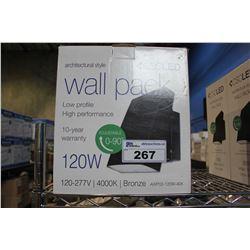 CSC 120W LED WALL PACK (MODEL AWP02-120W-40K)