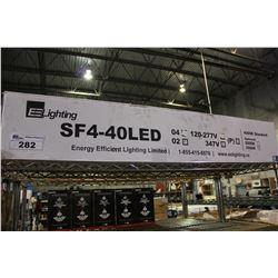 EE LIGHTING LED TUBES (MODEL SF4-40LED)