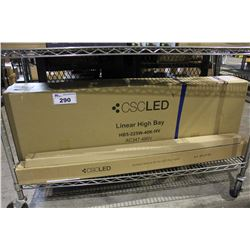 CSC LED LINEAR HIGH BAY FIXTURE, MOUNT KIT FOR LED FLAT PANEL AND MORE