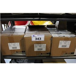 3 BOXES OF VISTA DECORATOR SWITCHES