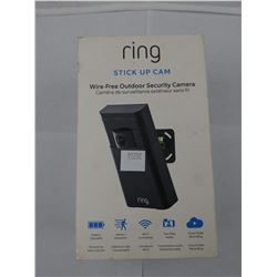 RING STICK UP CAM WIRE-FREE OUTDOOR SECURITY CAMERA