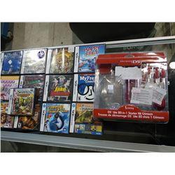 13 NINTENDO DS GAMES AND CRIMSON STARTER KIT