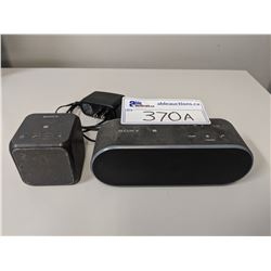 PAIR OF SONY PERSONAL AUDIO SYSTEMS (MODELS SRS-X2 AND SRS-X11)
