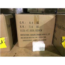 PALLET INCLUDING 33 BOXES OF PANTY LINER FEMININE SANITARY NAPKINS 8.4 KG BOX