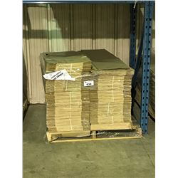 PALLET OF ASSORTED FEMININE SANITARY NAPKIN PACKAGES / BOXES