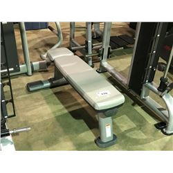 LIFE FITNESS GREY / GREY COMMERCIAL  EXERCISE BENCH