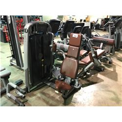 TECHNOGYM GREY / BROWN COMMERCIAL CABLE PECTORAL MACHINE