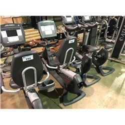 LIFE FITNESS 95R LIFECYCLE COMMERCIAL RECUMBENT EXERCISE BIKE