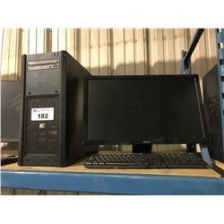 CORSAIR GAMING DESKTOP COMPUTER (CORSAIR CS550M, ASROCK Z97 ANNIVERSARY MOTHERBOARD, 4GB RAM)