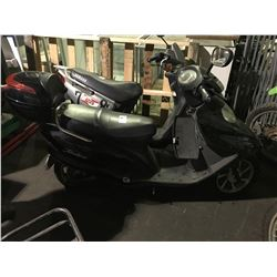 BLACK TAOTAO ELECTRIC SCOOTER ( NO REGISTRATION, NO KEYS, NO CHARGER, CONDITION UNKNOWN )
